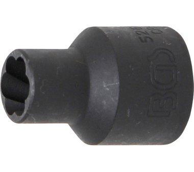 Spezial-Steckschlüssel-Einsatz / Schraubenausdreher, 12,5 (1/2), 10 mm