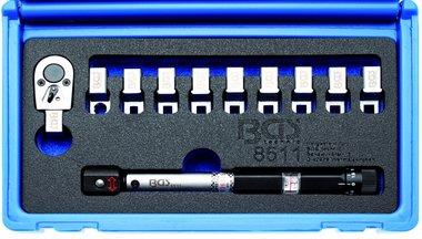 Drehmoment-Speichenschlussel austauschbare Kopfe 3 - 15 Nm