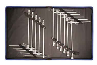 Gelenk-Steckschlüsselsatz 8-19 mm, 11-tlg.