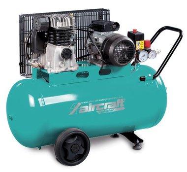 Riemengetriebenen Kompressor 2 Zyl. 10 bar - 50 l