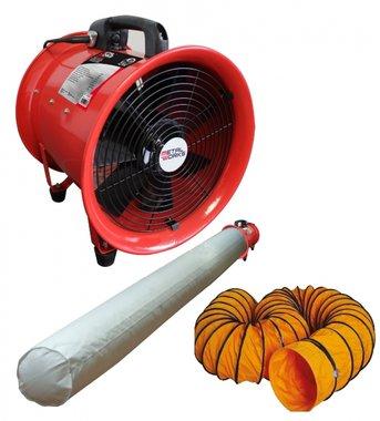 Fan 300mm - 500w mit Schlauch und Filter