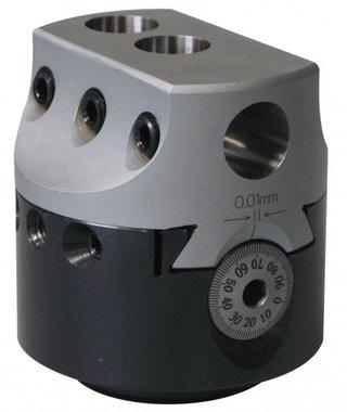 Universal-Bohrkopf ohne automatische Fütterung KKC3, 75mm