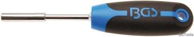 Drehgriff für Bits Abtrieb Außenvierkant 6,3 mm (1/4) 200 mm