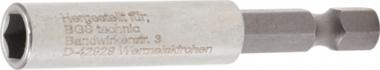 Magnetischer Bithalter, extra stark Abtrieb Außensechskant 6,3 mm (1/4) 60 mm
