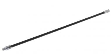 Verlengstuk flexibel 6,3 mm (1/4) 450 mm