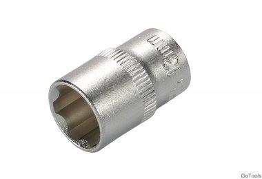 Steckschlüssel-Einsatz, 10 (3/8), Super Lock, 13 mm