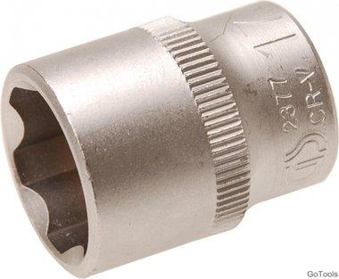 Steckschlüssel-Einsatz, 10 (3/8), Super Lock, 17 mm