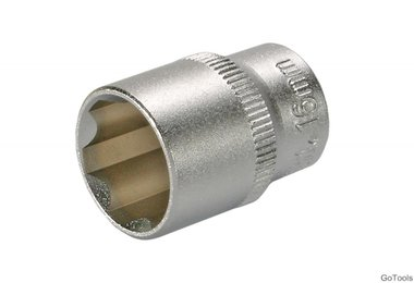 Steckschlüssel-Einsatz, 10 (3/8), Super Lock, 16 mm