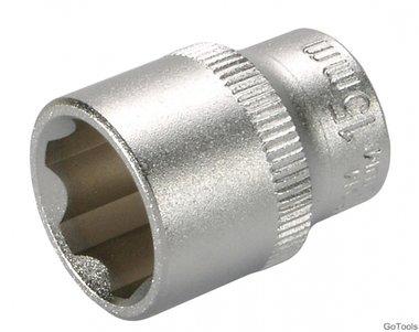 Steckschlüssel-Einsatz, 10 (3/8), Super Lock, 15 mm