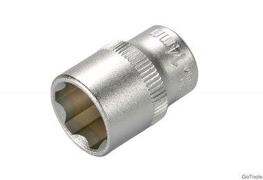Steckschlüssel-Einsatz, 10 (3/8), Super Lock, 14 mm