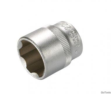 Steckschlüssel-Einsatz, 10 (3/8), Super Lock, 22 mm
