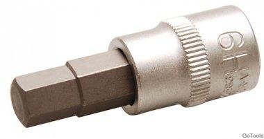 Bit-Einsatz   Antrieb Innenvierkant 10 mm (3/8)   Innensechskant 9 mm