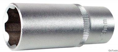 Steckschlüssel-Einsatz 10 (3/8), Super Lock, tief, 12 mm