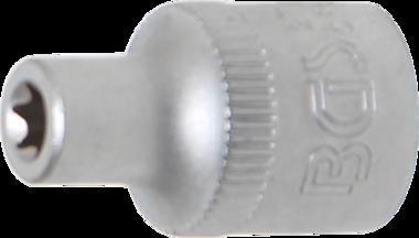 Steckschlüssel-Einsatz E-Profil Antrieb Innenvierkant 10 mm (3/8) SW E6