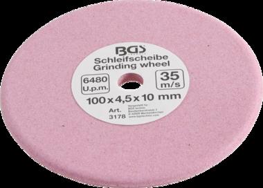Schleifscheibe für Kettenglieder Ø 100 x 4,5 x 10 mm