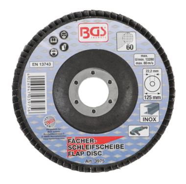 Fächer-Schleif-Scheibe Ø 125 mm K 60