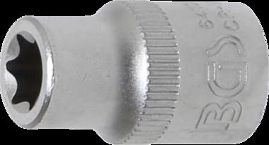 Steckschlüssel-Einsatz E-Profil Antrieb Innenvierkant 10 mm (3/8) SW E10