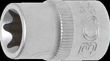 Steckschlüssel-Einsatz E-Profil Antrieb Innenvierkant 10 mm (3/8) SW E14