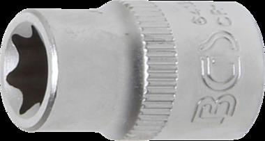 Steckschlüssel-Einsatz E-Profil Antrieb Innenvierkant 10 mm (3/8) SW E12