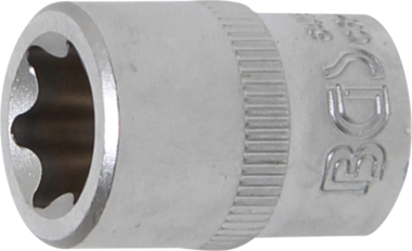 Steckschlüssel-Einsatz E-Profil Antrieb Innenvierkant 10 mm (3/8) SW E16
