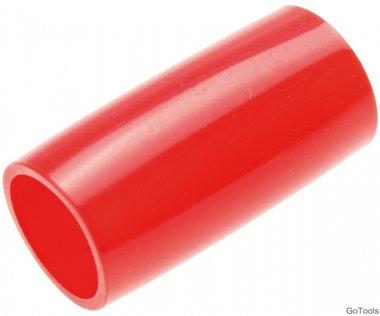 Kunststoffschonhülle für Art. 7303 für SW 21 mm rot