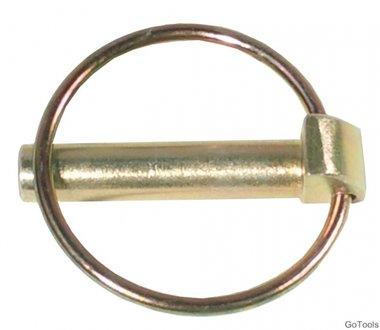 Klappsplinte, Bolzen-Ø 6 mm, 2-tlg.