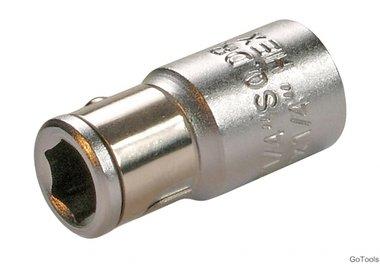 Adapter mit Haltekugel, 6,3 (1/4), für 6,3 (1/4) Bits