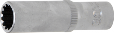 Steckschlüssel-Einsatz Gear Lock, tief Antrieb Innenvierkant 10 mm (3/8) SW 12 mm