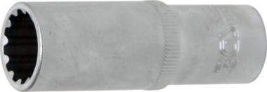 Steckschlüssel-Einsatz Gear Lock, tief Antrieb Innenvierkant 10 mm (3/8) SW 15 mm