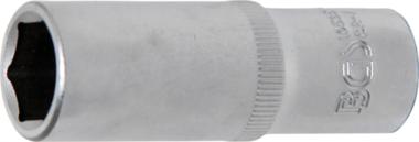 Steckschlüssel-Einsatz Sechskant, tief Antrieb Innenvierkant 10 mm (3/8) SW 15 mm