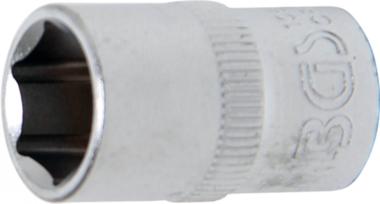 Steckschlüssel-Einsatz Sechskant Antrieb Innenvierkant 10 mm (3/8) SW 11 mm