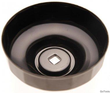 Ölfilterschlüssel 15-kant Ø 74 mm für Audi, Chrysler, GM, Rover