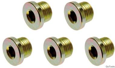 Ölablassschrauben zu Art. 126 M20 x 1,5 mm 5-tlg.