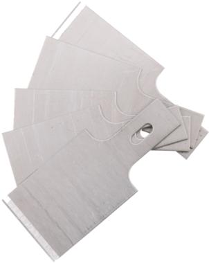 Ersatz-Schaberklingen für Art. 364, 0,6 x 20 mm 5-tlg