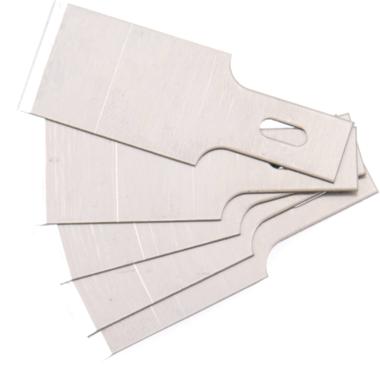 Ersatz-Schaberklingen für Art. 364, 0,6 x 16 mm 5-tlg