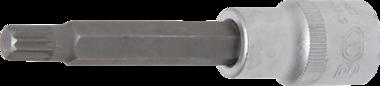 Bit-Einsatz Länge Antrieb Innenvierkant (1/2) Innenvielzahn (für XZN) M9
