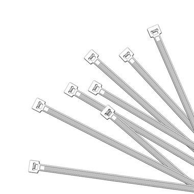 Kabelbinder 200x2,5mm 1000 Stück weiß