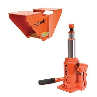 KoJack hydraulischer Caravanheber mit Wasserwaage