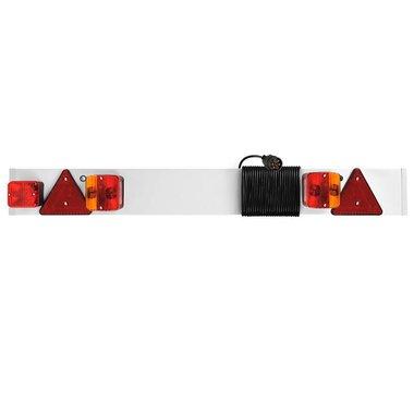 Beleuchtungstafel mit Nebelschlussleuchte + 5M Kabel