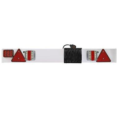 Beleuchtungstafel LED mit LED Nebelschlussleuchte + 6M Kabel