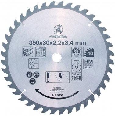 Hartmetall-Flachschleifmesser, Ø 350 mm