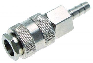 Druckluft-Schnellkupplung mit 8 mm Schlauchanschluss