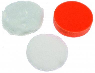 3-teiliges Polierkissen-Set, 100 mm für BGS 9259