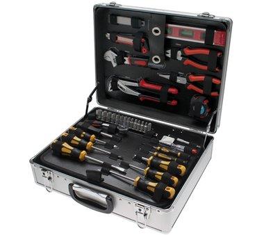 129-teiliges Werkzeugset aus Aluminium