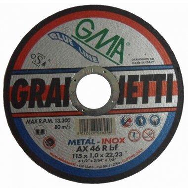 Grandinetti Trennscheiben Edelstahl Metall 75x1x10 mm