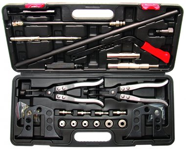 21-teiliges Universal-Ventilfeder-Montage-/Demontagekit