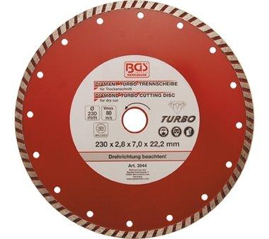 Turbo-Trennscheibe, 230 mm