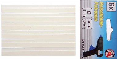 Klebestifte, 6 Stück, 11x100 mm