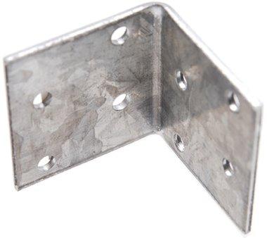 Winkelverbinder, verzinkt, 40x40x40x2 mm