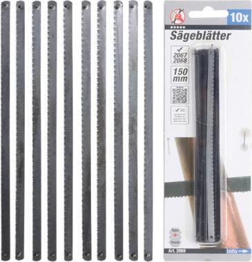 Sägeblätter 150 mm 10-tlg